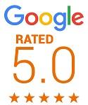 WE'VE GOT  5-star  Google reviews!