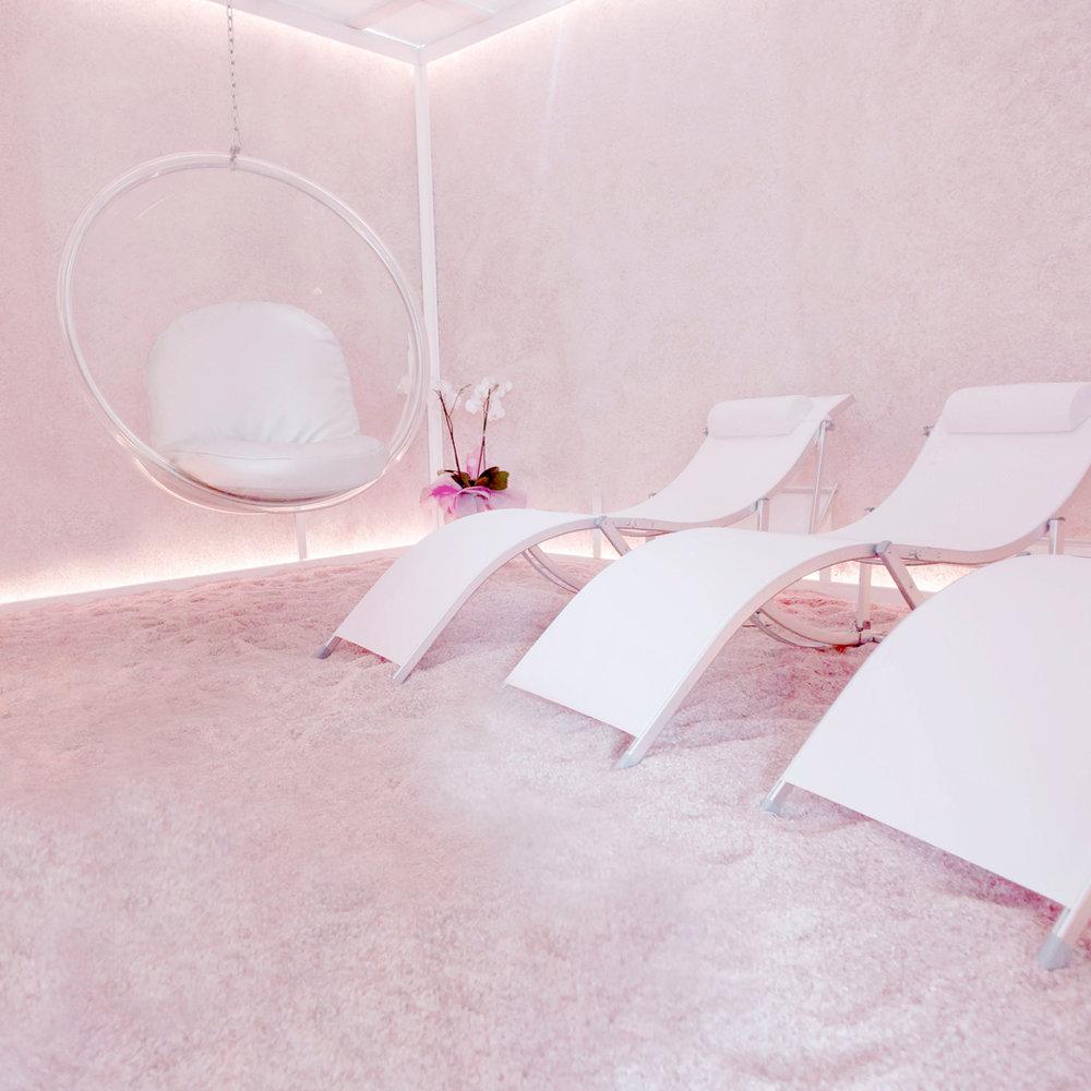 Grotta di sale, Isola del Respiro, Sesto Fiorentino, sale himalayano, interior design, benessere, arredamento, decorazione