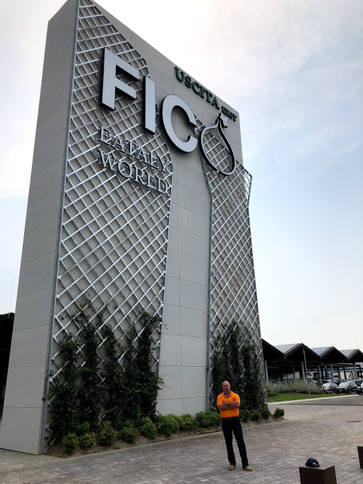 Chef Stefano gladly visited the world's most exceptional food mall, FICO, in search of northern Italian pastries.