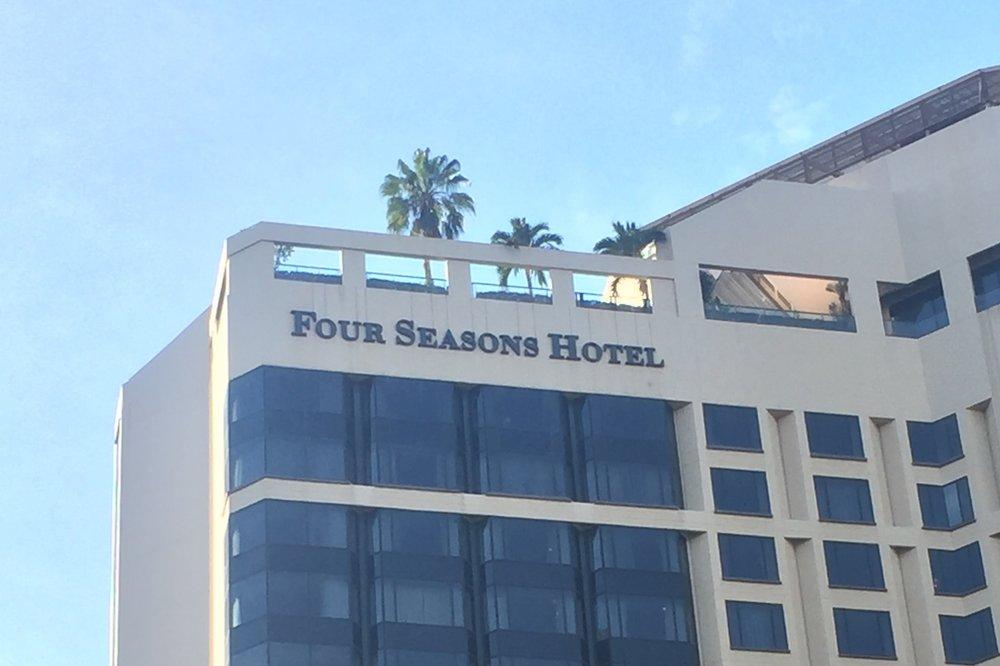 Four Season Hotel Signage