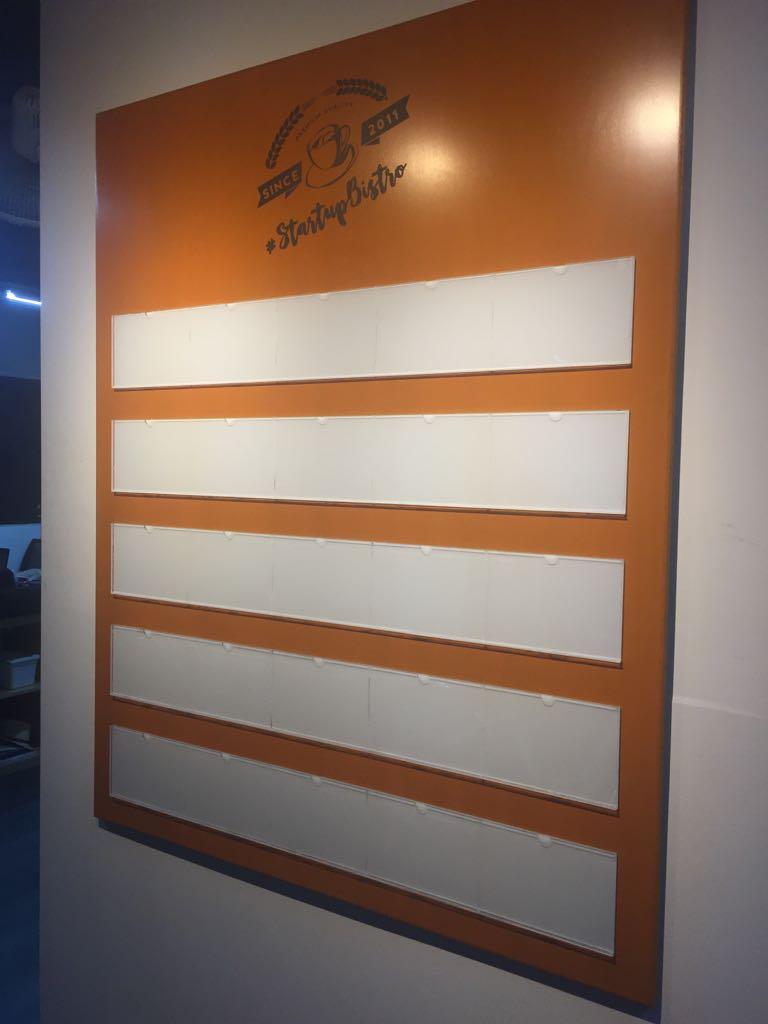 Wooden Directory Board