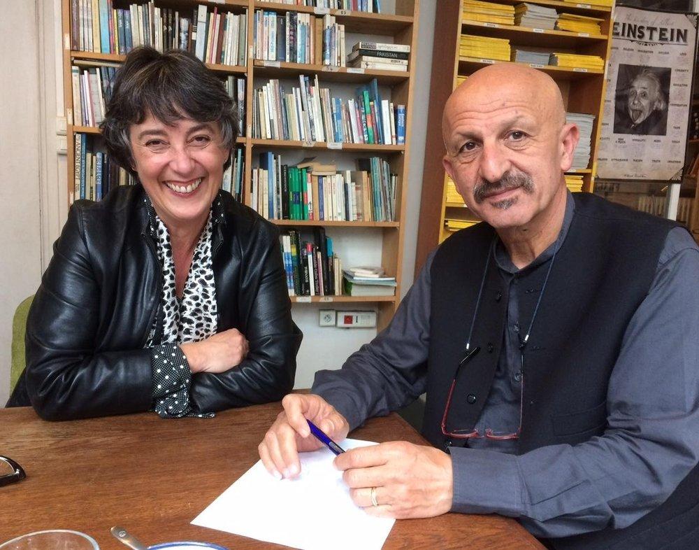 France Blanc,Reza Deghati