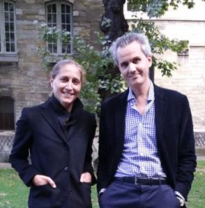 Cynthia Fleury et le professeur Raphaël Gaillard