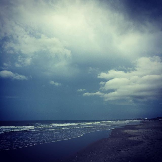 A little stormy walk on the beach... no complaints here...