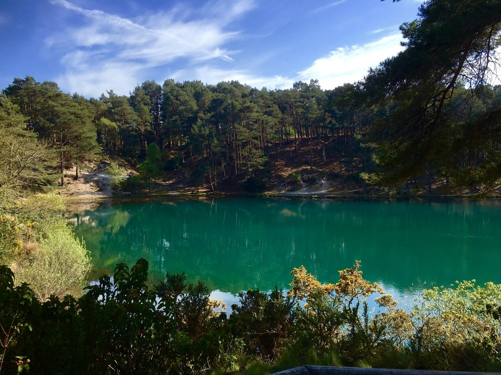The Stunning Blue pool