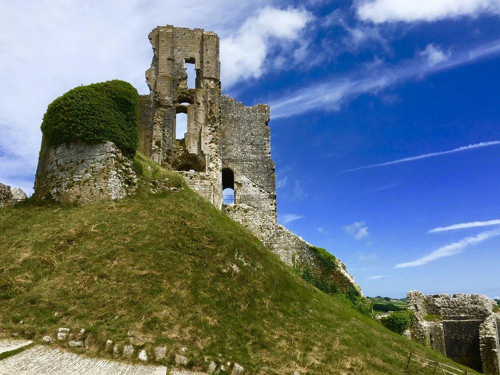 The Historic Corfe castle