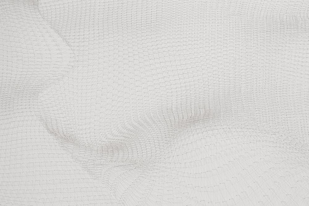 White Wave (detail)