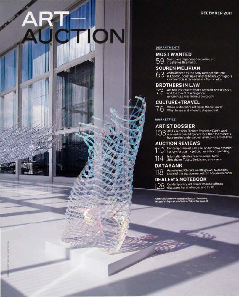 Art & Auction: December, 2011