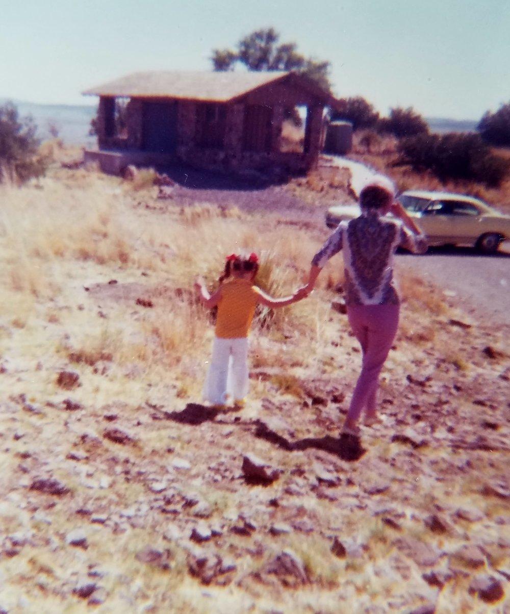 Mom and me 1969