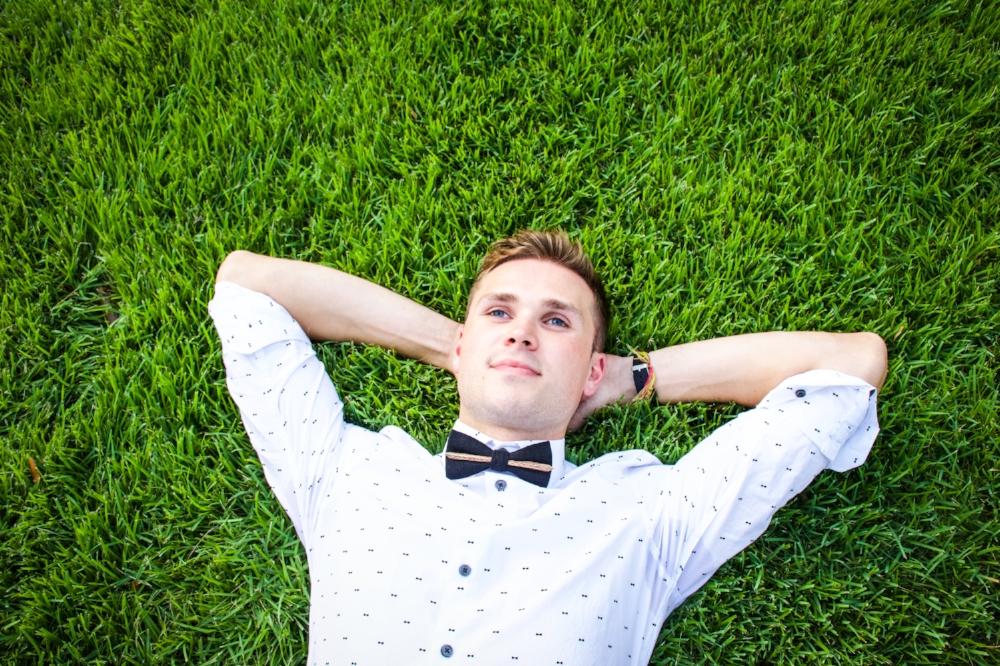 Grass Bow tie