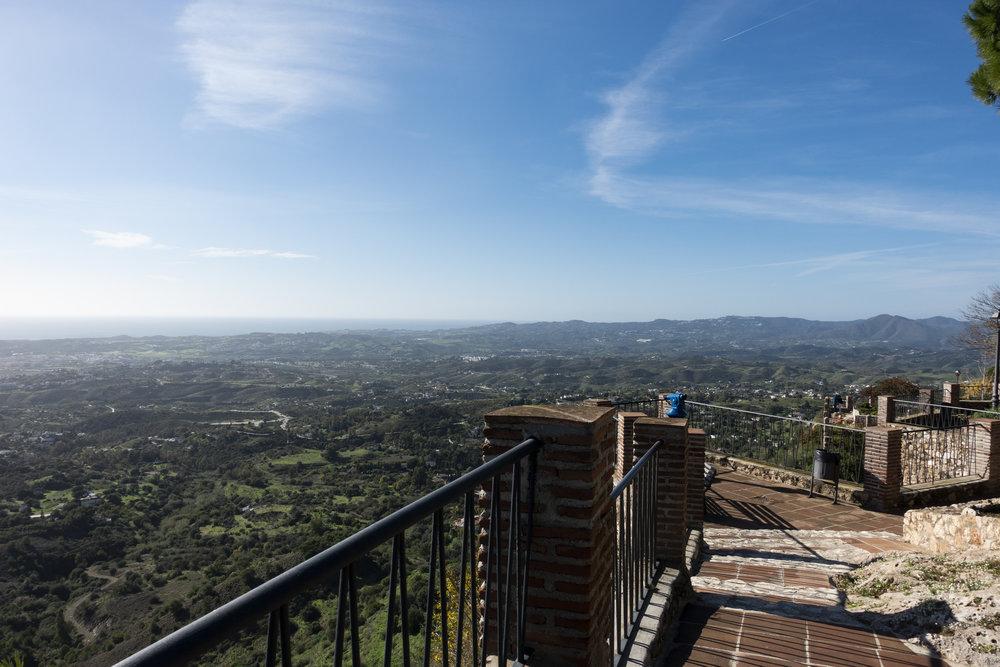 Uitzicht park La Muralla