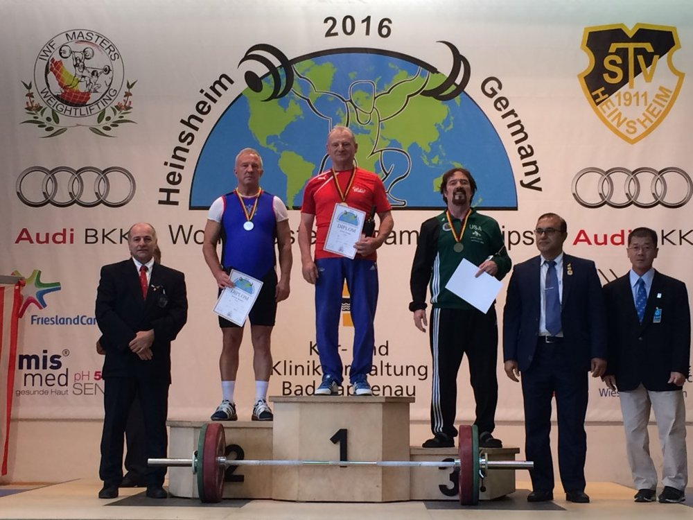 Art Donahoe Masters Weightlifting Heinsheim