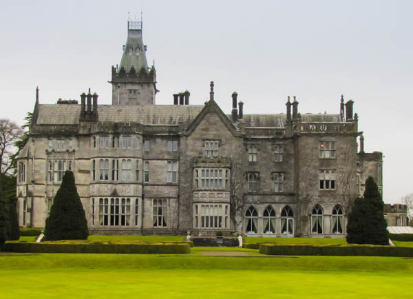 Adare Manor - Our Irish Home for the week