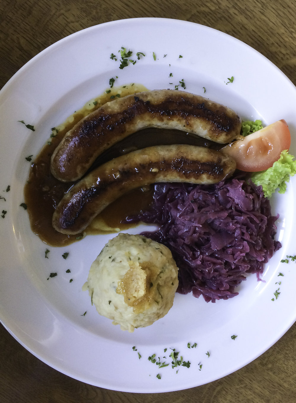 German Brats and Kraut