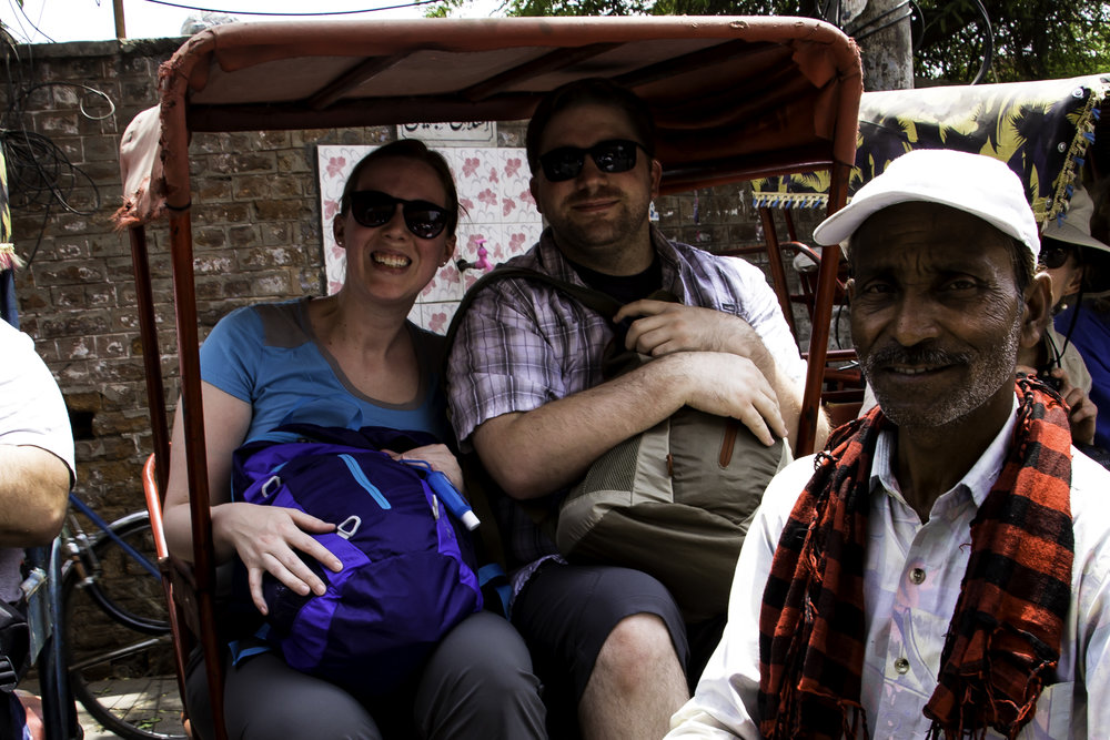 Arranged Rickshaw Ride in India