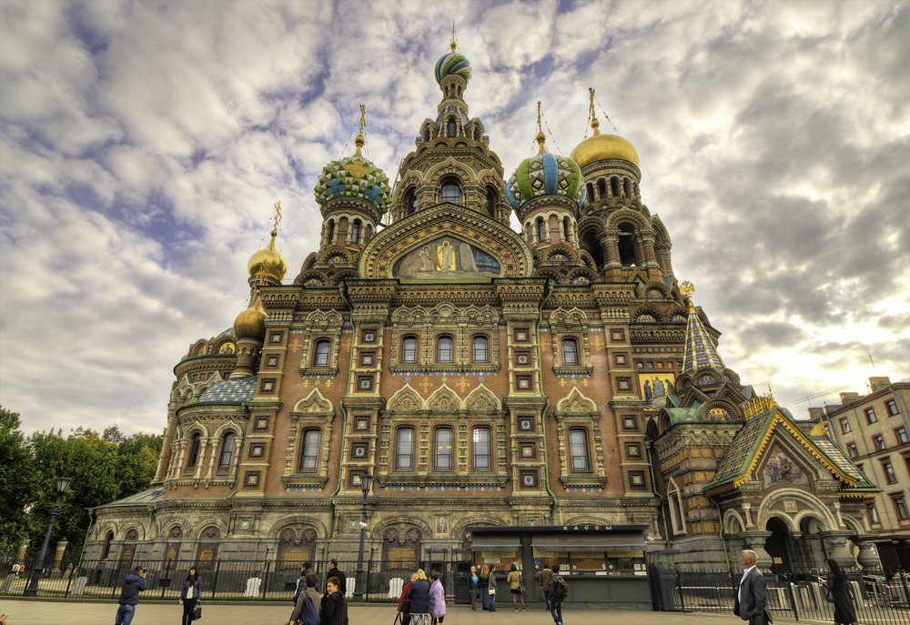 Church of the Savior of the Spilled Blood - Credit: Matt Vick