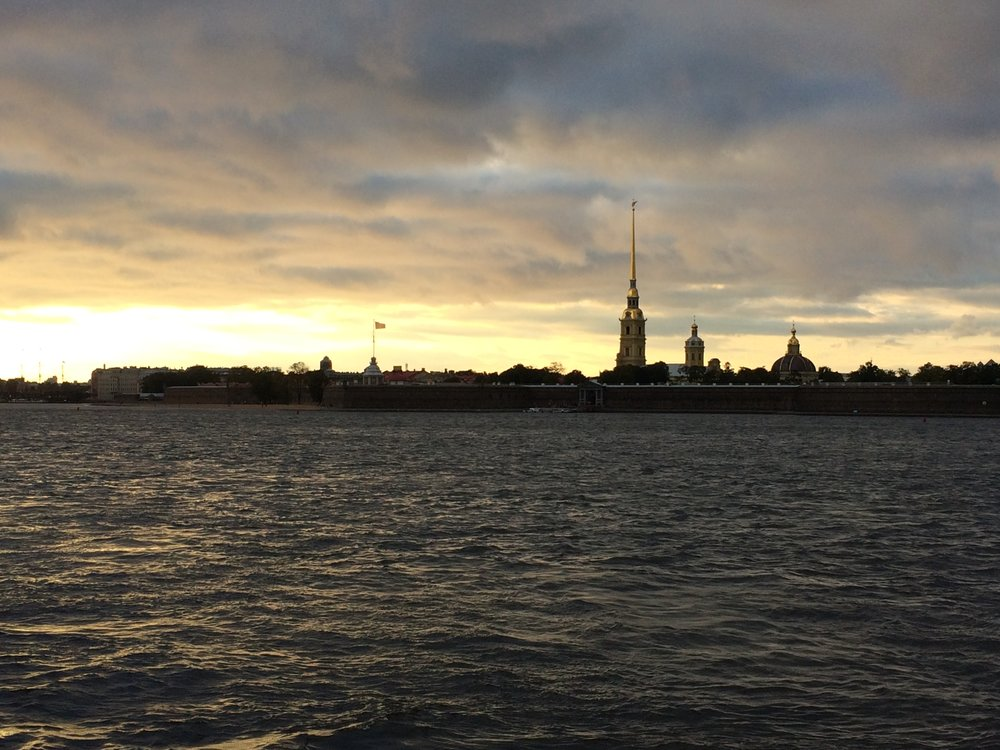 St. Petersburg at Sunset