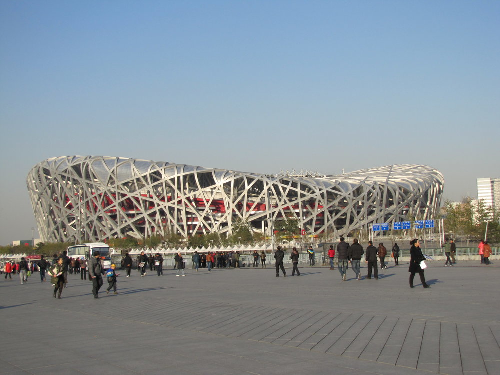 Beijing's Olympic Park - The Bird Nest Stadium