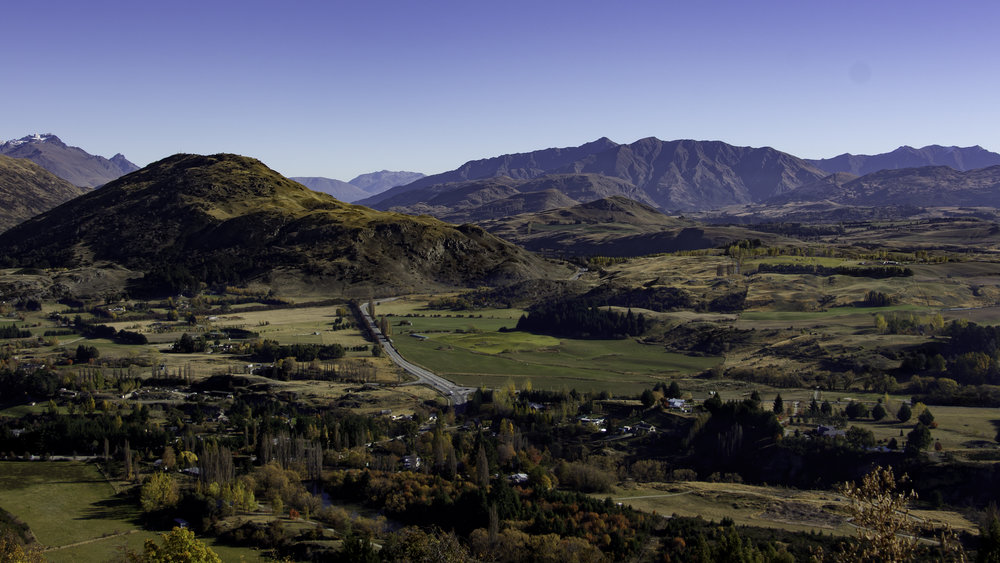 Overlooking Arrowtown, NZ