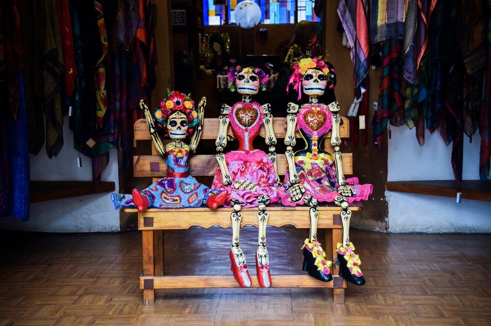 Day of the Dead Dolls - Photo Credit: Valeria Almaraz