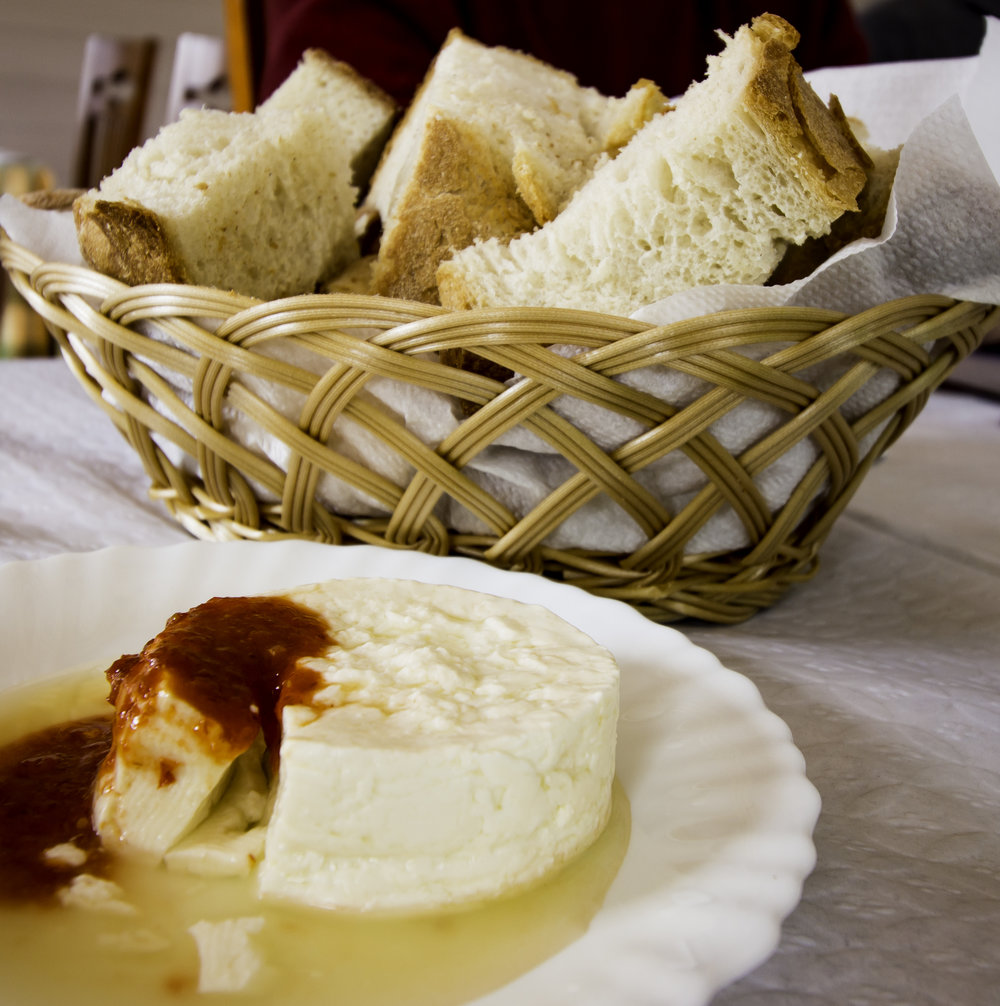Bread and Sao Jorge cheese