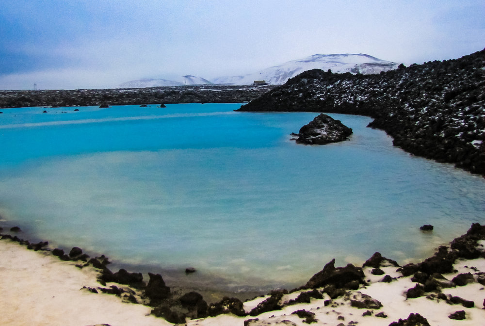 The Blue Lagoon- close to Keflavik airport