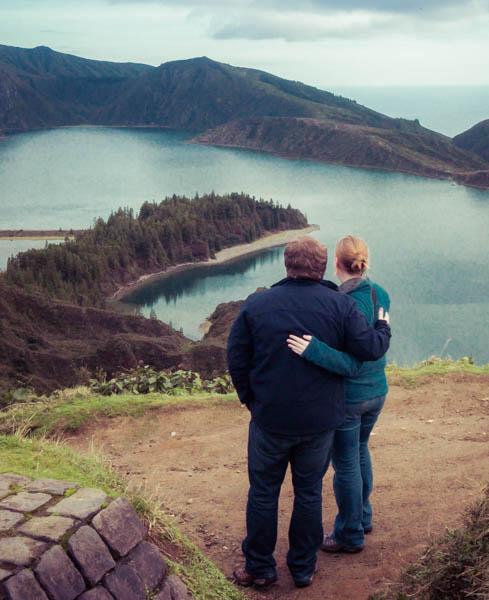 A soft edit overlooking Lagoa de Fogo, Sao Miguel, Azores, Portugal