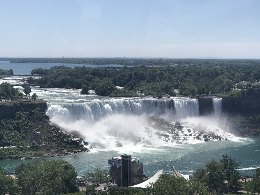 A view of American Falls from Canada