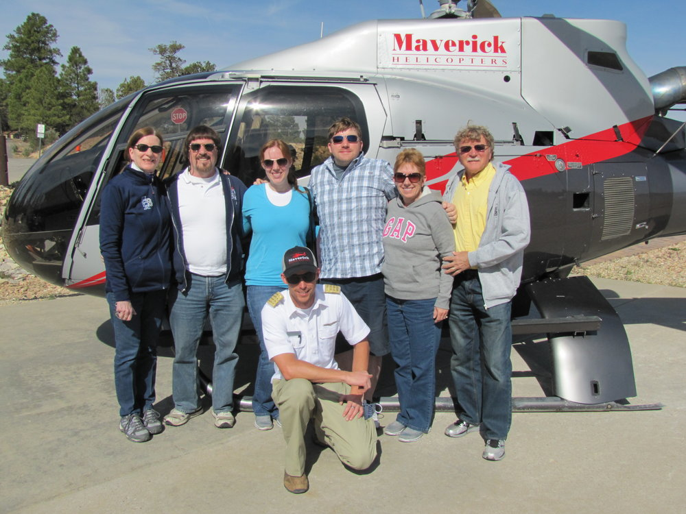 Heli Tours with Maverick Helicopters