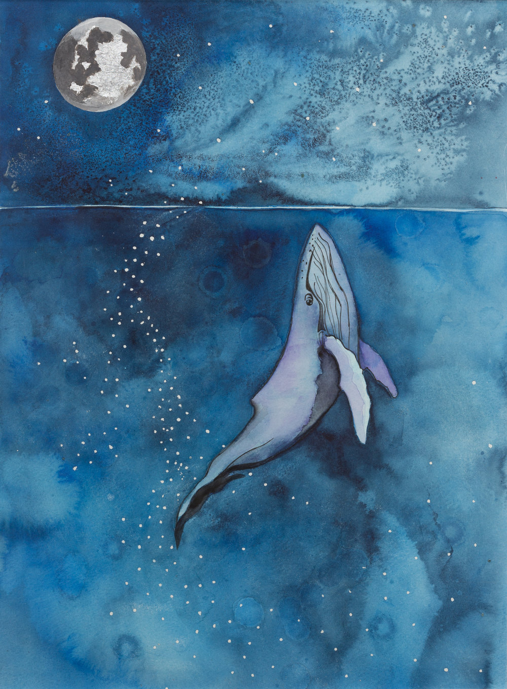 Whale's Moon - SOLD