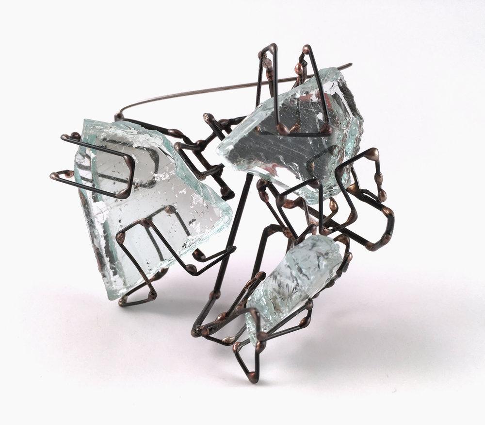 Elaine Zukowski | <strong><em>Glass Brooch, 2 </em></strong>