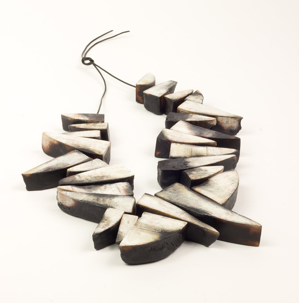 Nina Van Duijnhoven | <strong><em>A Burning Question, Neckpiece 3</em></strong>