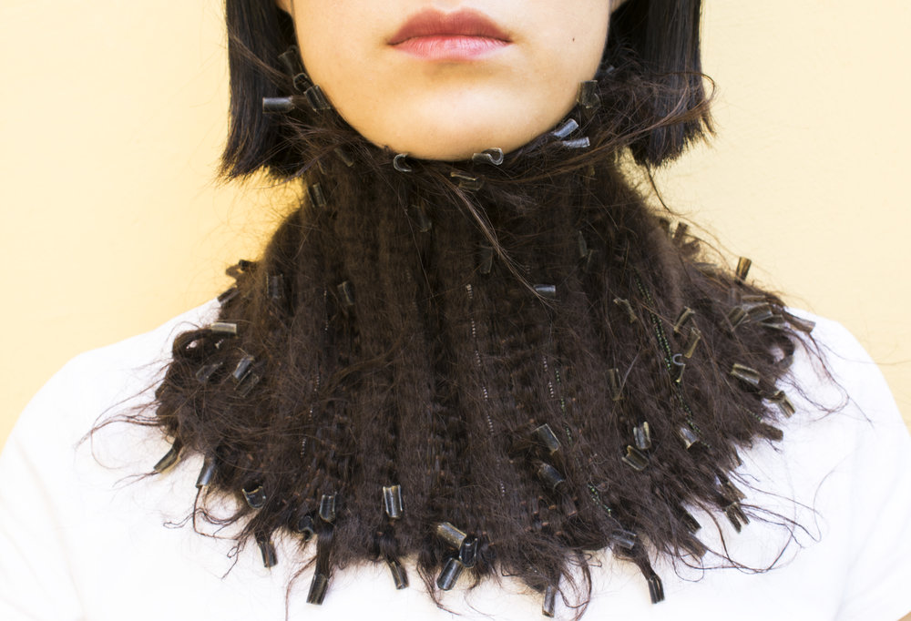 Amanda Stumpf  | <strong><em>In the Loom of Your Hair</em></strong>