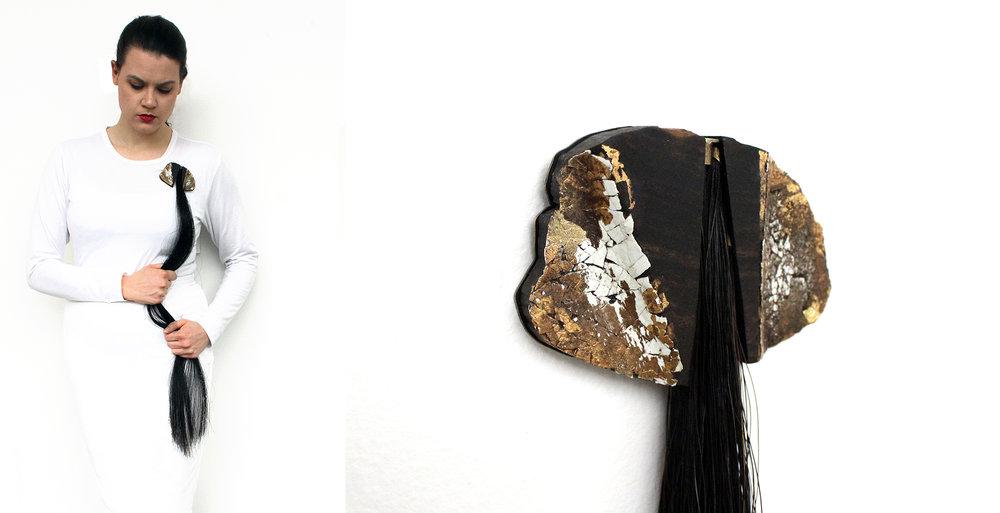 Rachel Andrea Davis | Mourning Brooch No. 4