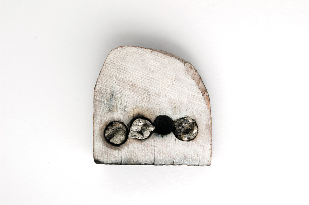 "Nina van Duijnhoven | ""What is to give light must endure burning."" –Viktor Frankl Brooch 3"