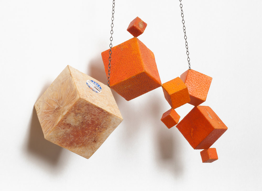 Cubic Tangelo Necklace II