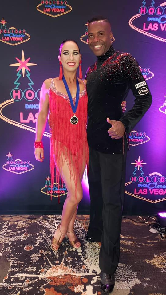 Kacey & Jean Michel @ the Holiday Dance Classic, Las Vegas 2018