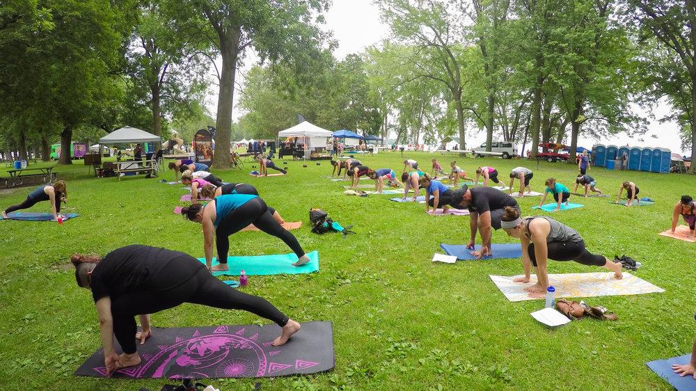 Yoga for Everybody, Yoga for EveryBODY at Onondaga Lake Park!