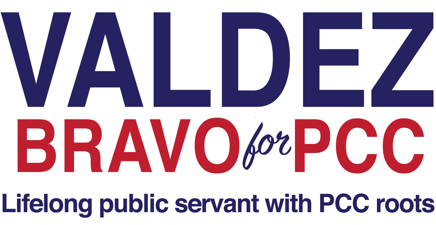Vote Valdez Bravo for PCC