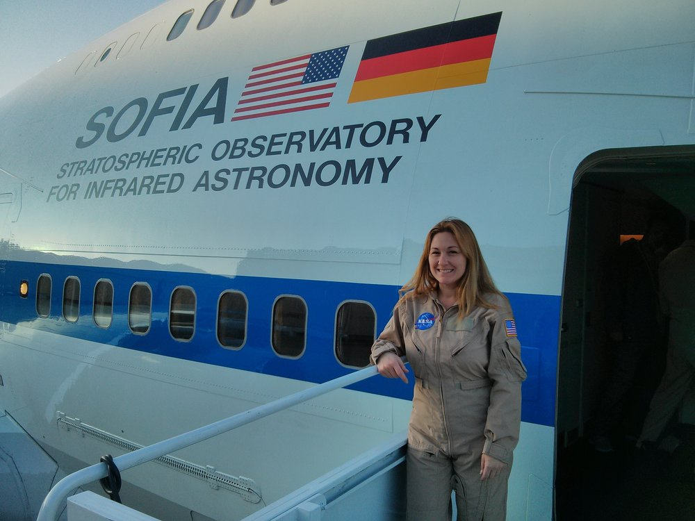 Gabrelle Saurage - Mission Director, SOFIA, NASA