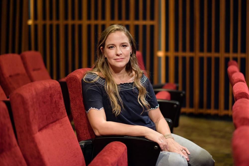 Director Joanna Bowers.  Photo courtesy of The Helper documentary