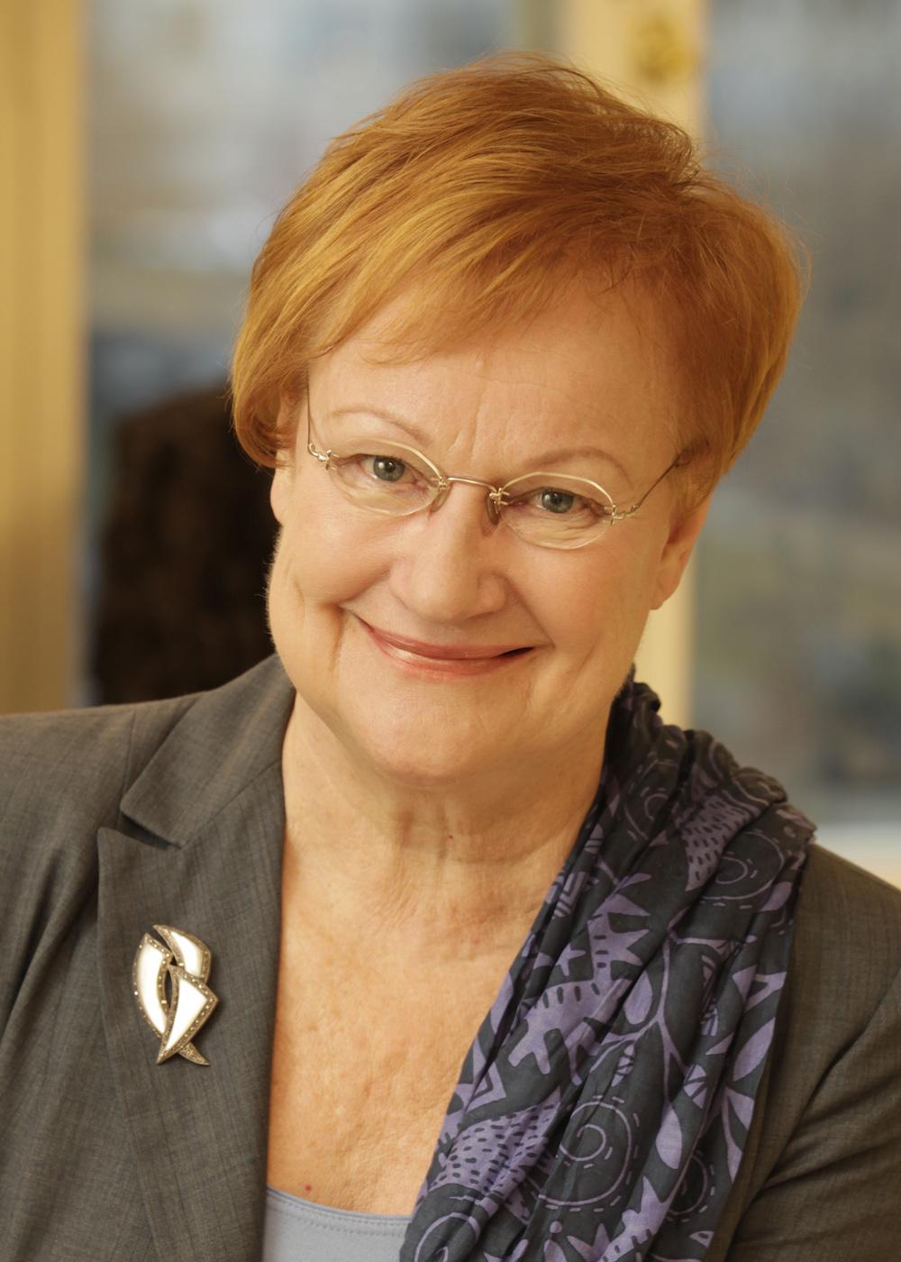 Tarja Halonen, President of Finland 2000-2012