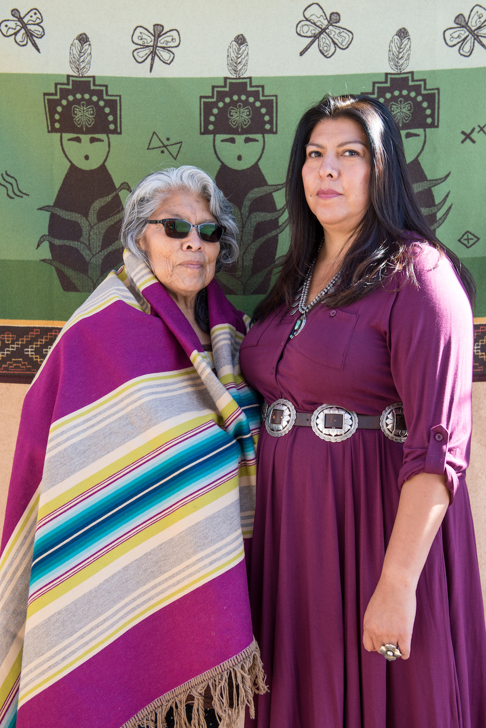 Kathy Sanches and daughter Corrine Sanchez. Photo by Brandon Soder