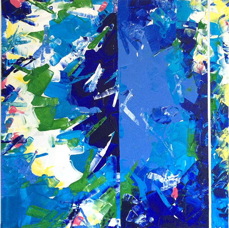 Three Part Harmony (2003) Acrylic on Canvas 24 x 24