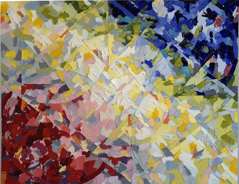 Richmond Lake (1996) Oil on Canvas 20 x 18