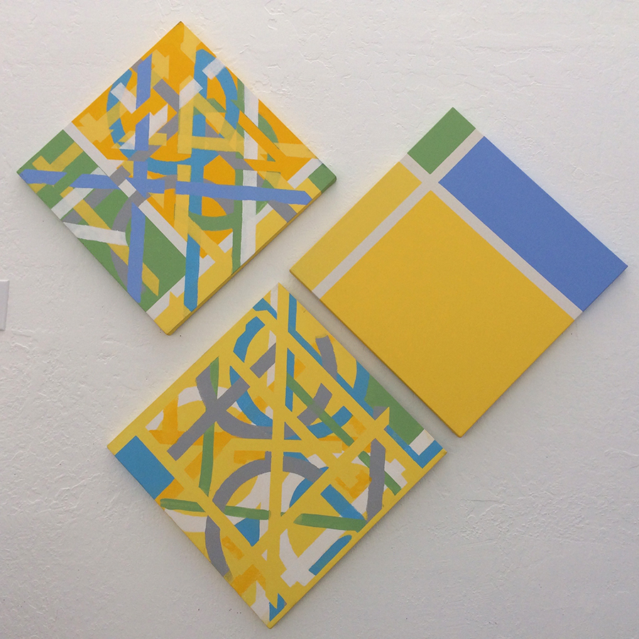 Overlapping Event History (2006) Acrylic on Canvas