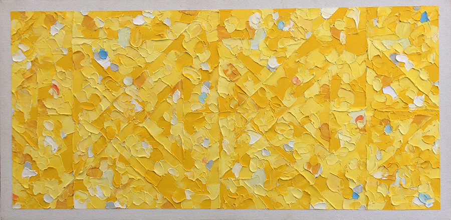 Yellow Painting (1995) Oil on Canvas 20 x 10