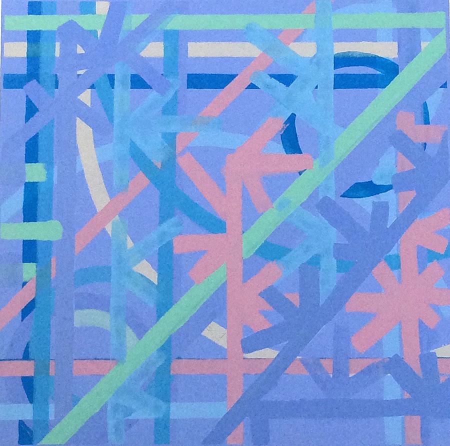 Central Light (2005) Acrylic on Canvas 36 x 36
