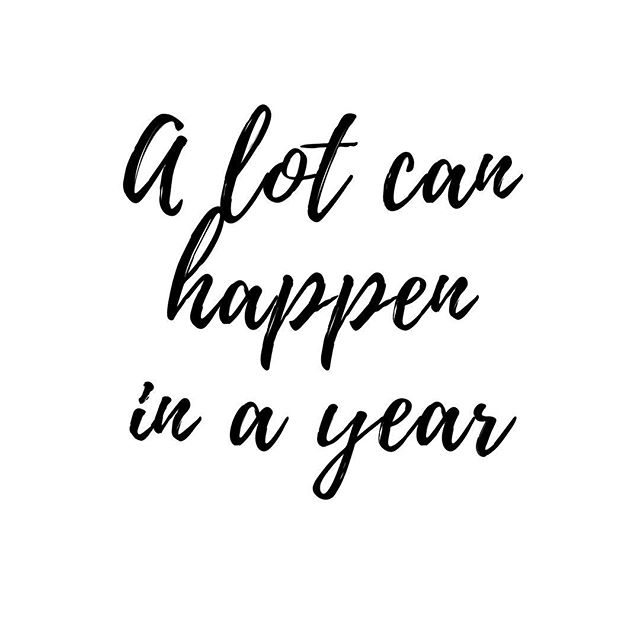 That's the phrase I keep seeing and reading everywhere as I was making goals and praying about this year, 2018. A lot can happen in a year. What have you been dreaming about for this year? #girlboss #crownup #theswaylife #goodnewsfeed