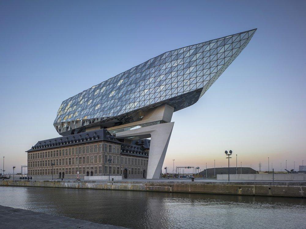 The Port House, Antwerp & Stadshal, Gent